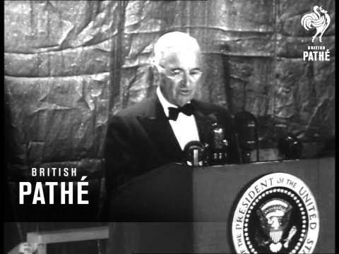 Truman Resigns Presidency (1952)