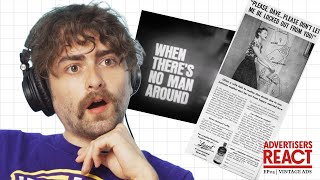 Advertisers React to Vintage Ads | Ep. 3