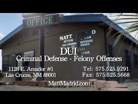 DWI Legal Representation - Matt Madrid