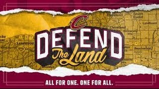 2017 NBA Playoffs Game 1; Cleveland Cavaliers vs Indiana Pacers - Cavs introduction.
