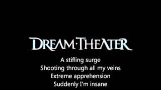 Dream Theater - Panic Attack lyrics on Screen