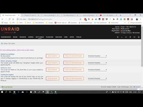 rsync to Synology NAS - Plugin System - Unraid