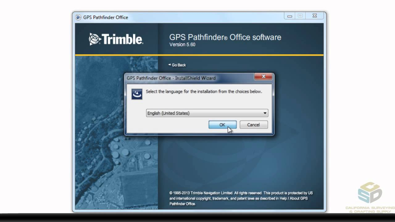 CSDS Tutorial: Installing Trimble Pathfinder Office Software onto a Windows  Desktop or Tablet OS