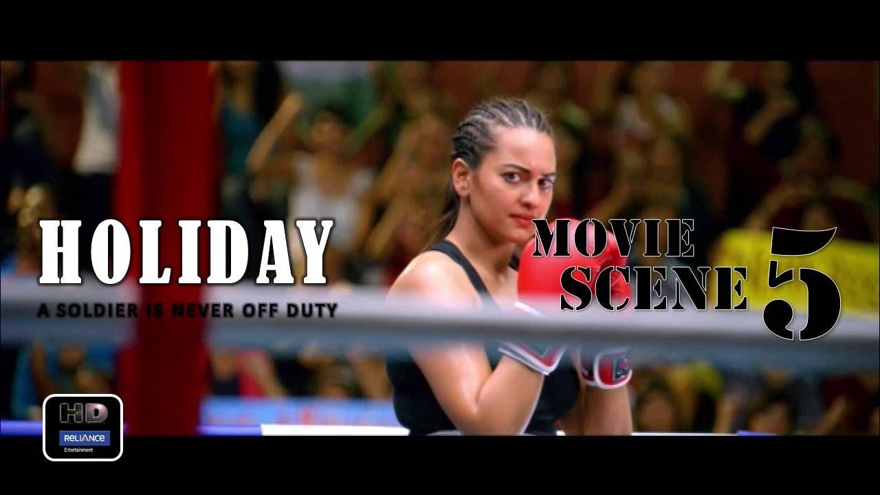 Download Holiday (2014) Official Movie Scene #5   Akshay Kumar,Sonakshi Sinha