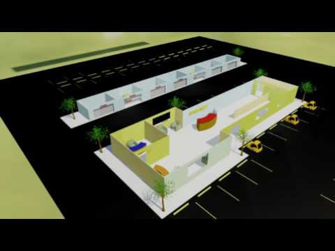 ERIC AUTO REPAIR LAYOUT & WALK THROUGH