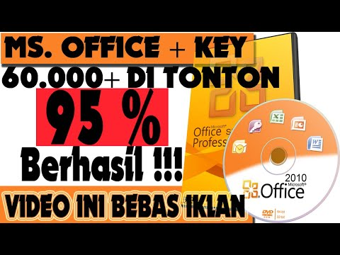 Tutorial Cara Instal Microsoft Office 2010 Permanen - 100 % Work !!!