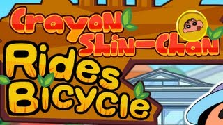 Crayon Shin-Chan Rides Bicycle Level1-4 Walkthrough
