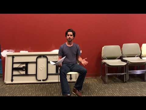 Dan Thorp audition exercise Fairfax Filmmakers Club