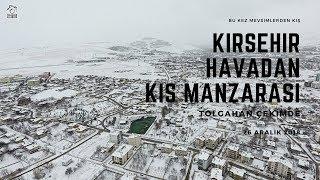 Kırşehir Havadan Kış Manzarası