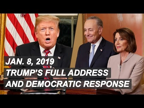 Watch President Trump's Full Immigration Address And Response From Democrats | NBC News