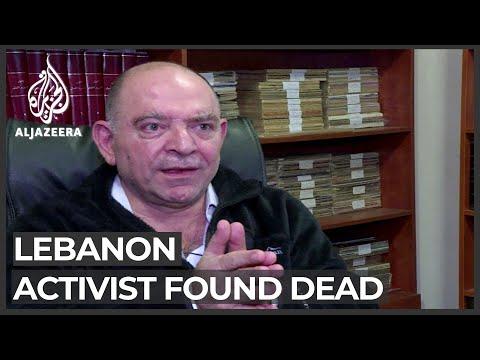 Lebanese anti-Hezbollah activist found dead in his car