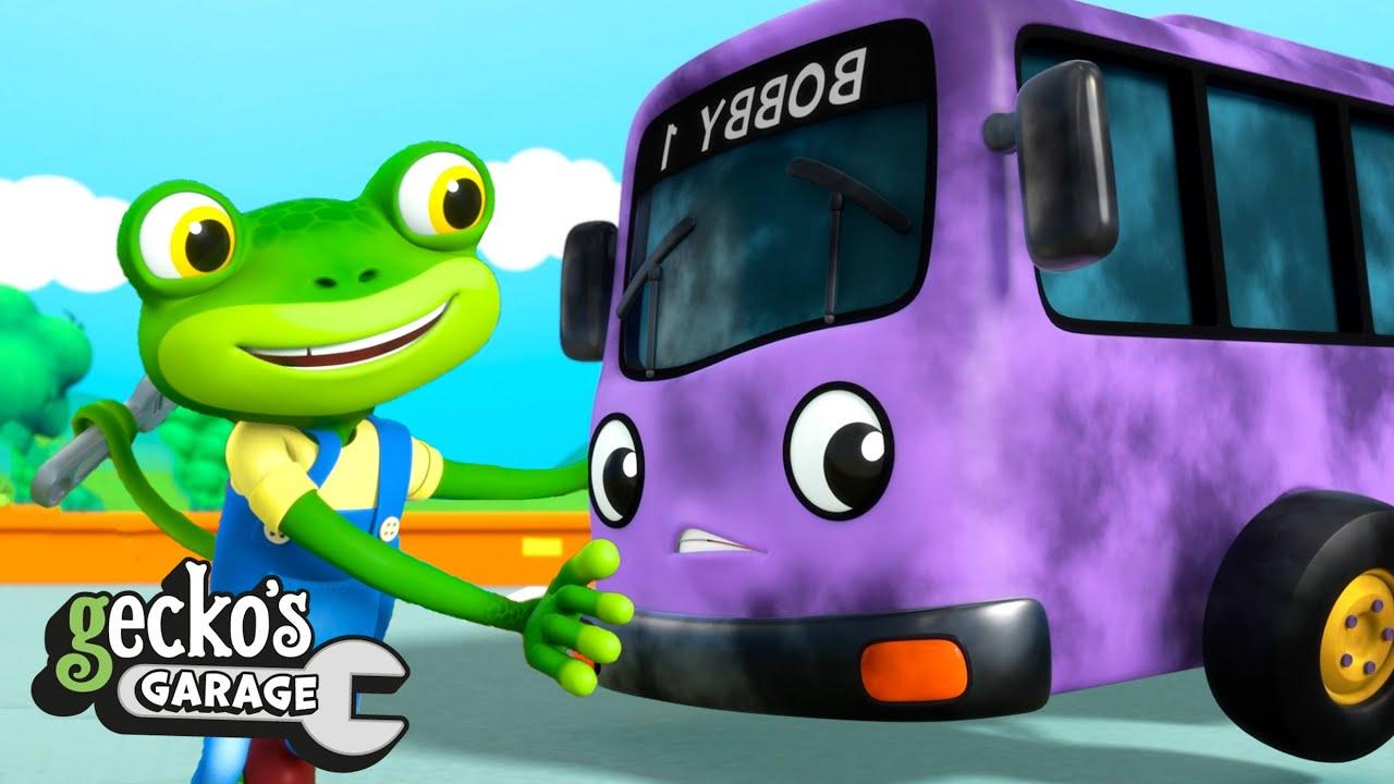 Bobby's New Engine | Gecko's Garage | Trucks For Children | Cartoons For Kids