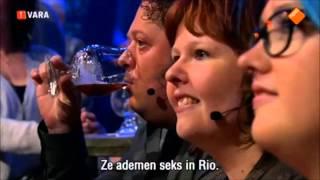 """Adam Lambert @ """"Kun Je Het Al Zien?"""" TV show"""