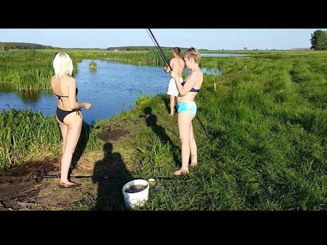 клип прикольный на рыбалку