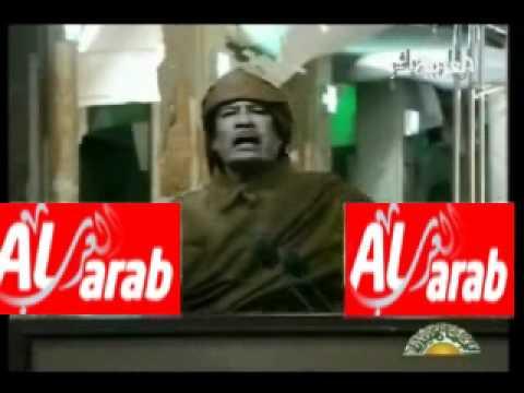 أغنية معمر القذافي بيت بيت زنقة زنقة لشباب ثورة