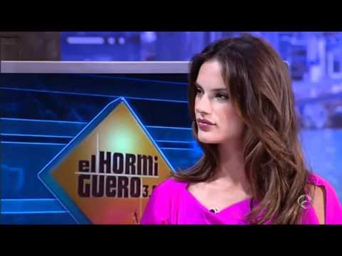 EL HORMIGUERO - Top Model Alessandra Ambrosio 'Es un orgullo trabajar de modelo estando embarazada'