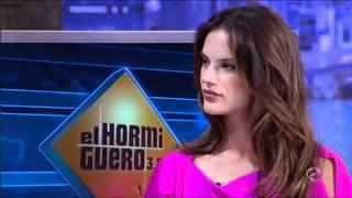 """EL HORMIGUERO - Top Model Alessandra Ambrosio """"Es un orgullo trabajar de modelo estando embarazada"""""""