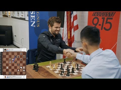 WOW – WHAT A GAME!!! Magnus Carlsen Vs Ding Liren || Blitz Chess 2019