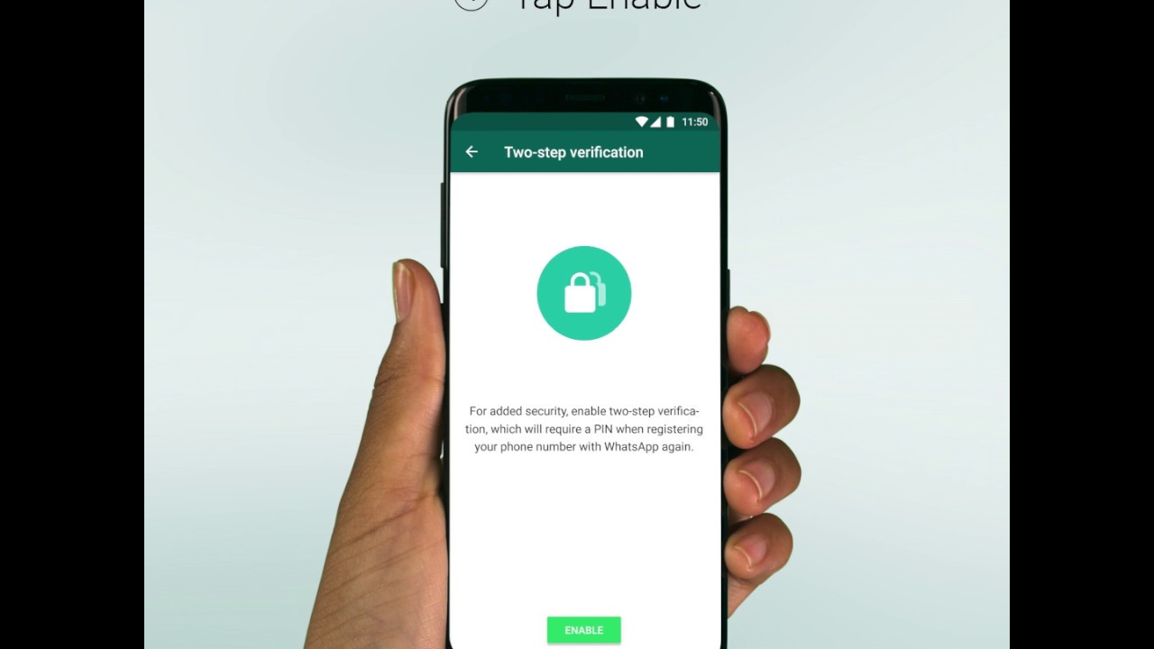 WhatsApp FAQ - Using two-step verification
