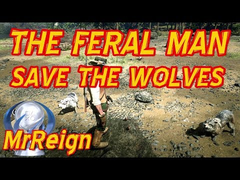 Red Dead Redemption 2 - The Feral Man - How To Save The Wolves & Get The Runaway Diary thumbnail