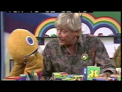 Geoffrey  Hayes (1942-2018) TV presenter-Rainbow