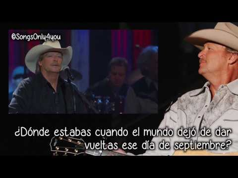 Where Were You - Alan Jackson (Traducida Al Español) [When the World Stopped Turning] Mp3