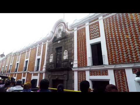 Bus tour of Puebla Mexico New as of September 2015