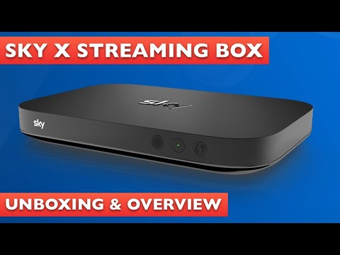 Sky X Streaming Box Unboxing & Overview