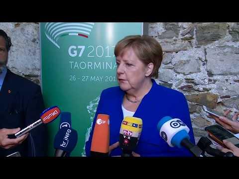 """Angela Merkel zum G7-Gipfel: """"Es war ein kontroverser Austausch"""""""