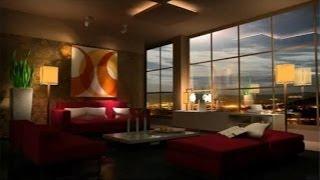 Học Vray - Áp chất liệu và ánh sáng cho căn phòng - Part2