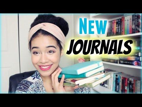 New Journals! || Haul