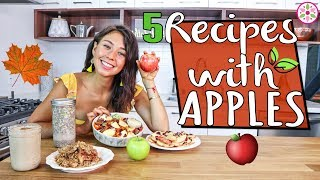 5 VEGAN RECIPES WITH APPLE FOR FALL!