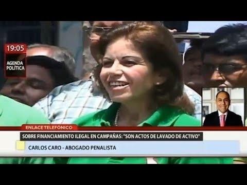 Carlos Caro en Canal N - Financiamiento ilegal en campañas electorales ¿Delito o infracción?
