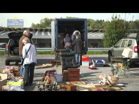 CINEY PUCES & Salon des Antiquaires - Visite lors du déballage