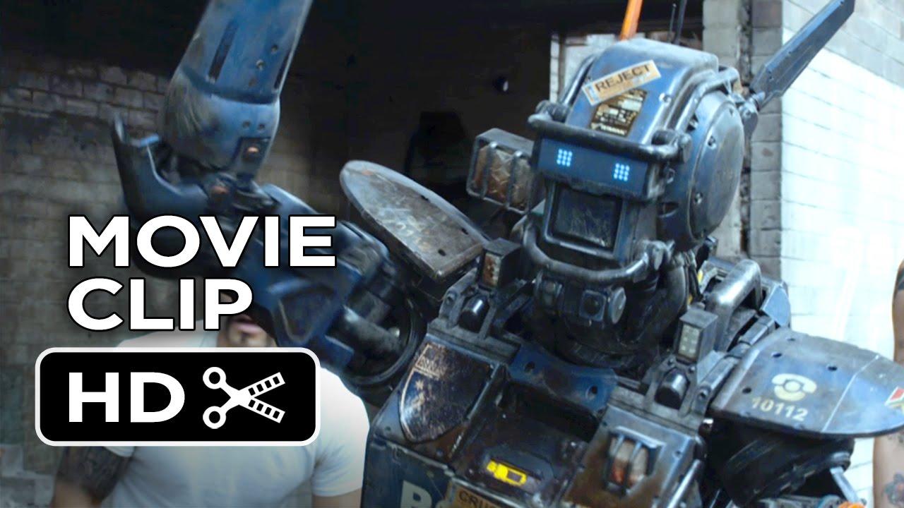 Download Chappie Movie CLIP - Real Gangster (2015) - Hugh Jackman, Dev Patel Robot Movie HD