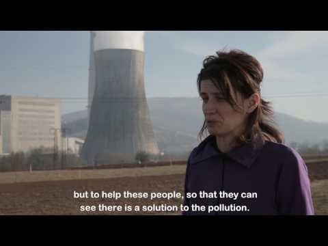 Air Pollution In Pljevlja, Montenegro - Interview