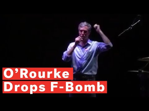 Michael J. - Uh, Beto O'Rourke Just Dropped An F-Bomb on Stage in his Concession Speech