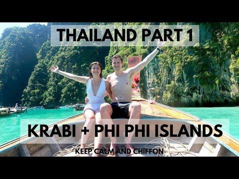 KRABI + PHI PHI ISLANDS | THAILAND PART 1 | KEEP CALM AND CHIFFON