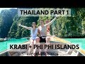 KRABI + PHI PHI ISLANDS MAYA BAY | THAILAND VLOG | KEEP CALM AND CHIFFON