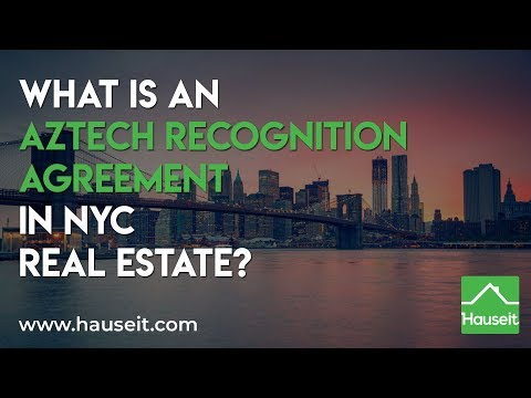 What Is An Aztech Recognition Agreement Hauseit Nyc