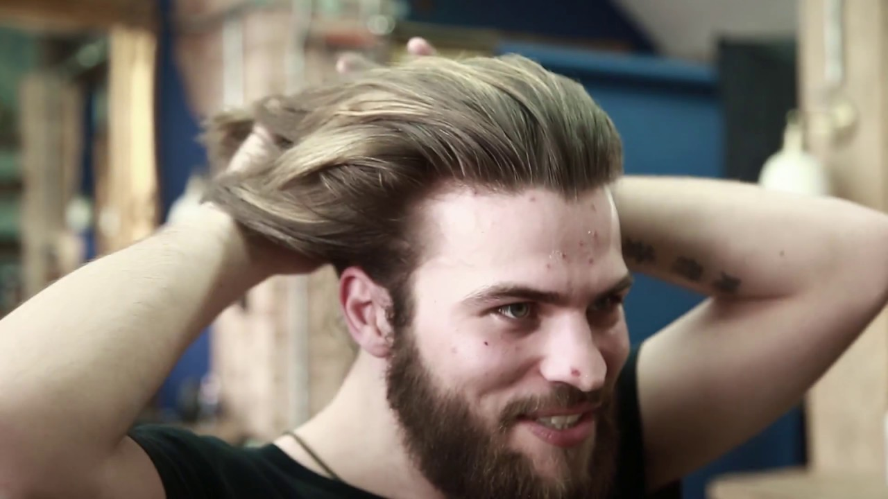 How To Style Long Hair For Men At Home