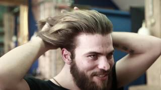 How To Style Long Hair For Men At Home Collar Length Sweep Back