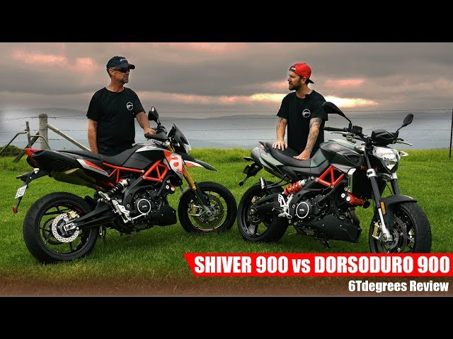 Aprilia Shiver 900 vs Dorsoduro 900 Review
