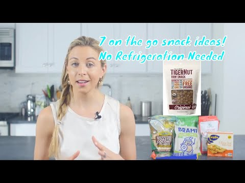 #healthysnacks best portable snacks for on the go that do not need refrigeration