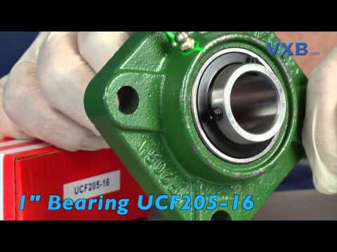 FYH Bearing UCF201 12mm Square Flanged Mounted Bearings by VXB