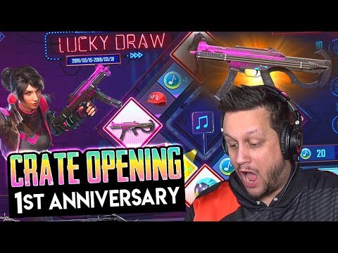 LUCKY DRAW PUBG MOBILE CRATE OPENING - SICK LOOT & EPIC WIN?