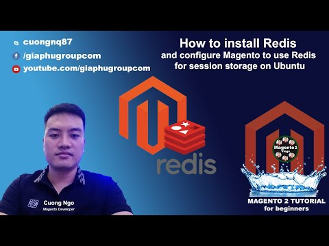 How to install Redis and configure Magento to use Redis for session storage on Ubuntu