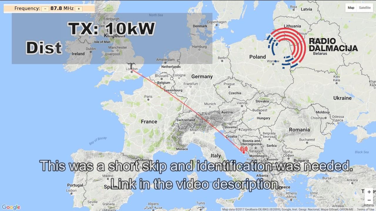 Spe 87 8 Mhz Radio Dalmacija Brac Croatia 1574 Km Short Skip