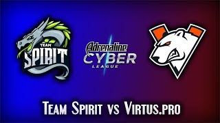Team Spirit vs Virtus.pro | Adrenaline Cyber League 2019