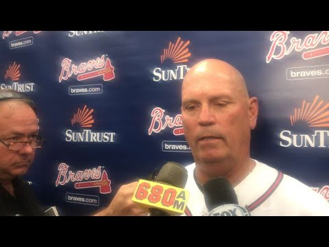 SEA@ATL: Snitker talks blown save in loss to Seattle